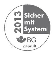 Maschinenbau- und Metall-Berufsgenossenschaft, Gütesiegel, Salomon Abbruch